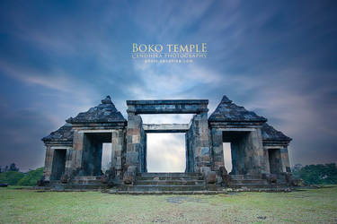Gate of Boko Temple by cendhikaphoto