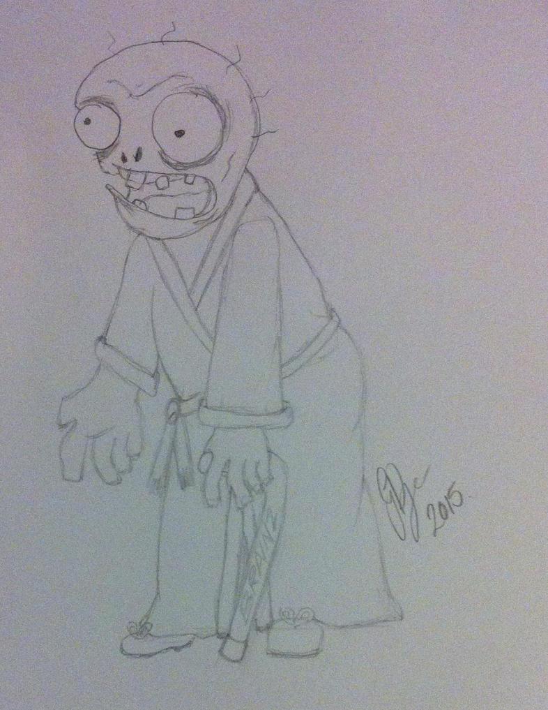 Zombie Next Door by moondial