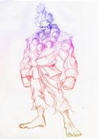 Gouki sketch... by immilesaway
