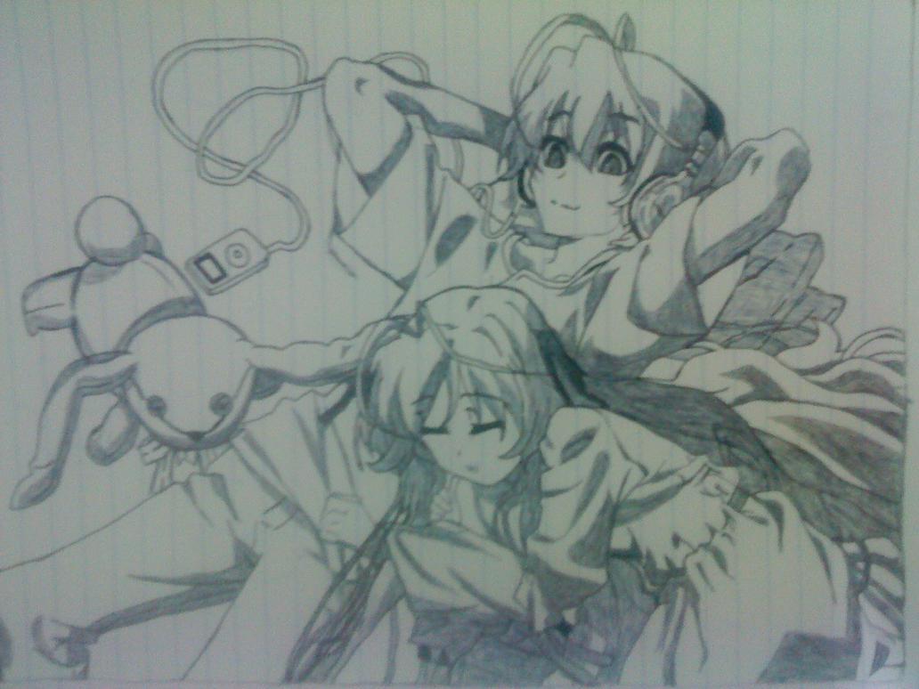 Yosuga No Sora Sora And Haru Sora and haru from yosuga no sora by dot    Yosuga No Sora Sora And Haru Kiss