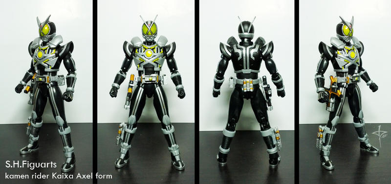 Kamen Rider Kaixa Axel form by dezet08 on DeviantArt