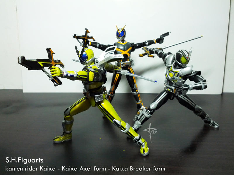 Kamen Rider Kaixa Evolution by dezet08 on DeviantArt