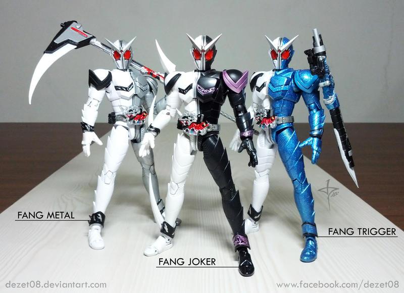 Fang Metal - Fang Joker - Fang Trigger by dezet08