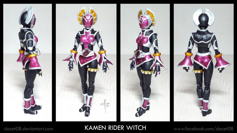 kamen rider witch by dezet08 on deviantart