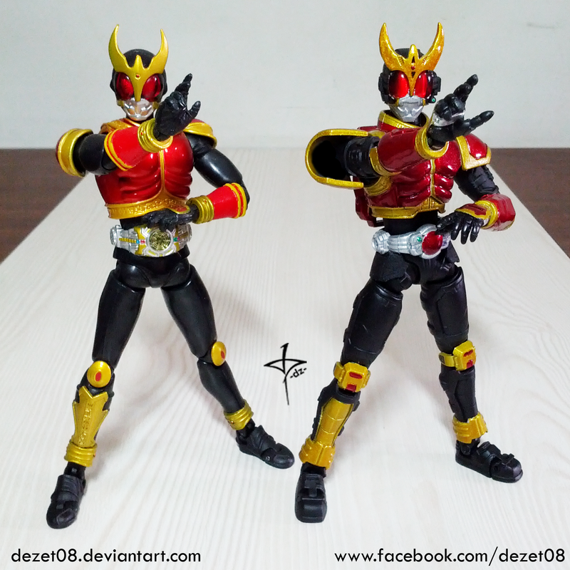Kuuga and Mecha Kuuga by dezet08