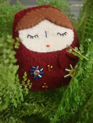 Babushka Doll Plushie by shockingsid