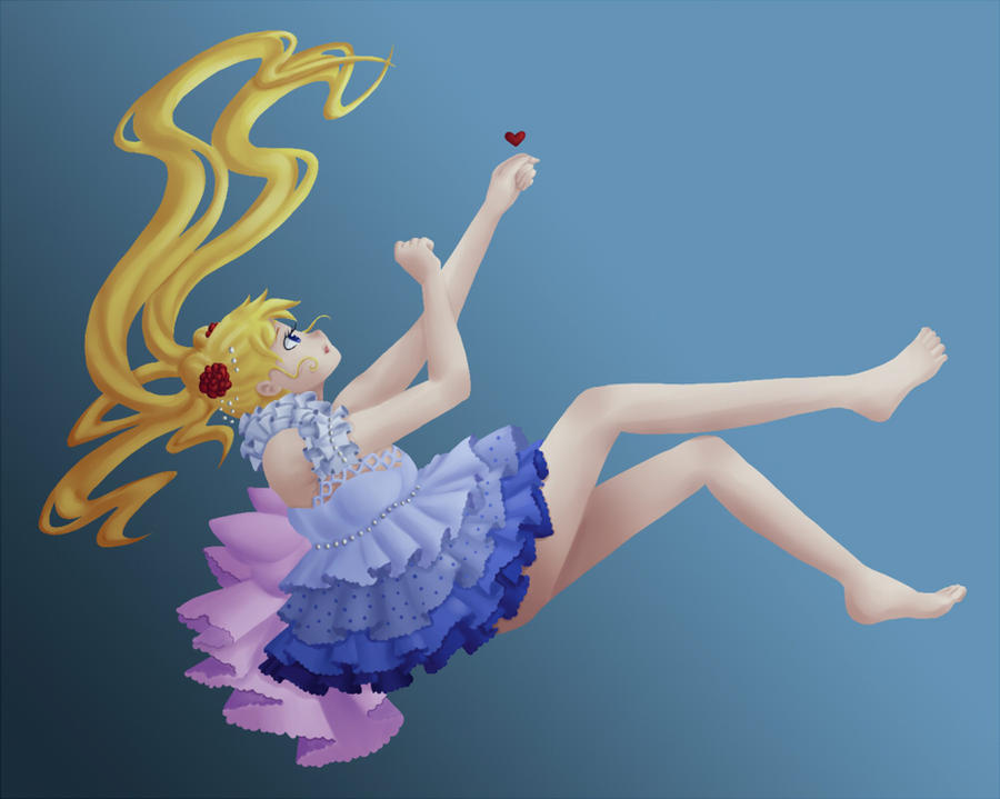 Sailormoon Underwater by DaughterInumi