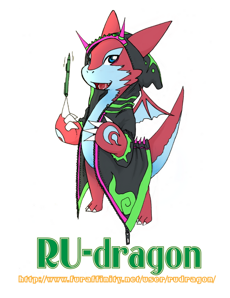 RU-dragon fursona -OLD- by phation