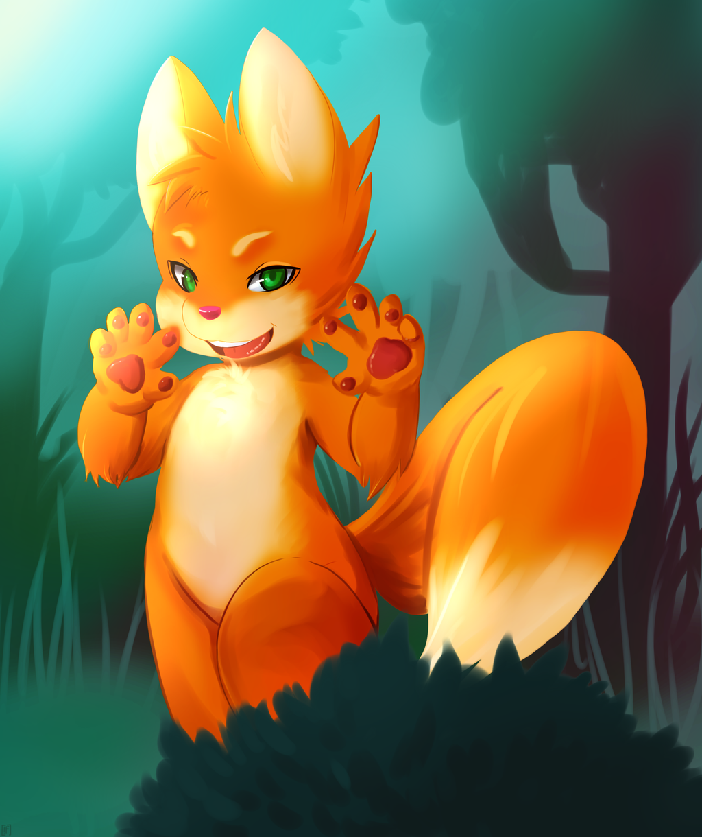 BOO sayz the fox by phation