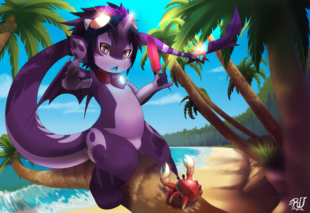 ZU at the beach by phation