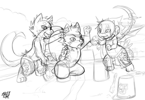 commission for Rogern WIP by phation