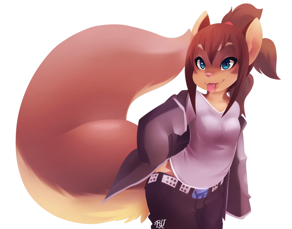 do you look like a cute lil punk Squirrel? by phation