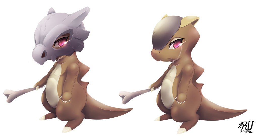 Cubone cubone unmasked by phation