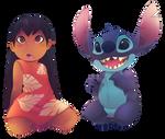 Lilo and stitch (fan art3/10)