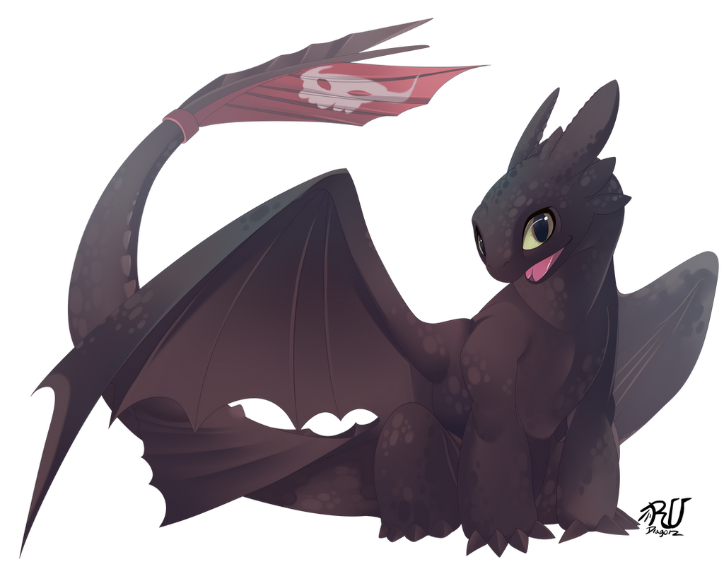 Toothless (fan art4/10) by phation on DeviantArt - photo#46