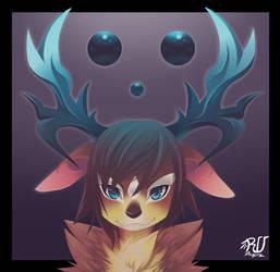 YXX- Deer-skull -XXY by phation