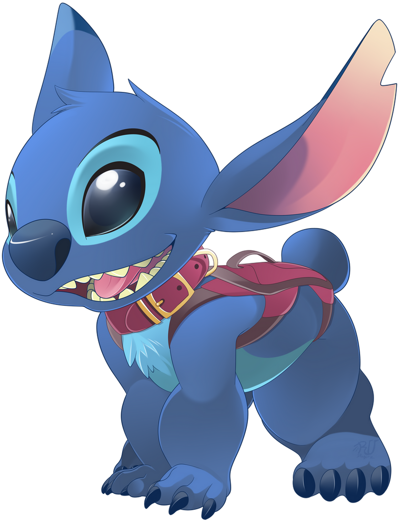 Stitch Dog Collar