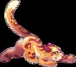 Leap tiger
