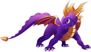 spyro the dragon 2018 FANART
