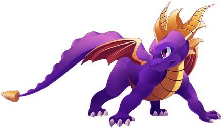 spyro the dragon 2018 FANART by phation
