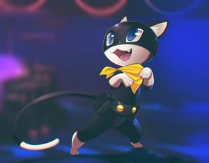 FANART of Morgana persona 5