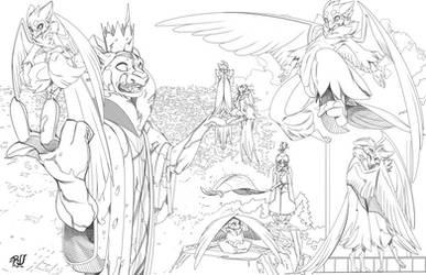 Griffin collage SKT