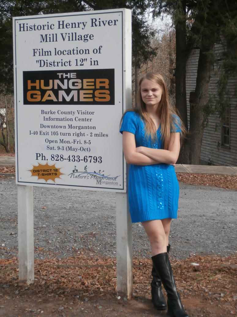 District 12 hunger games sign