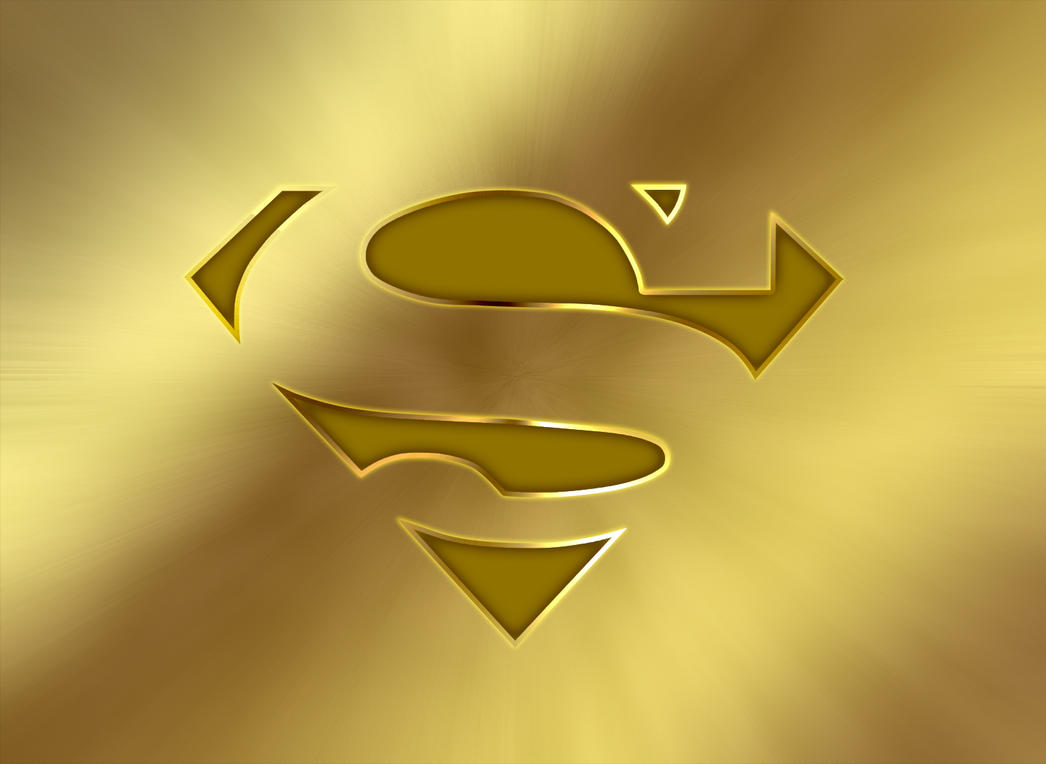 Superman Gold By Wayanoru On DeviantArt