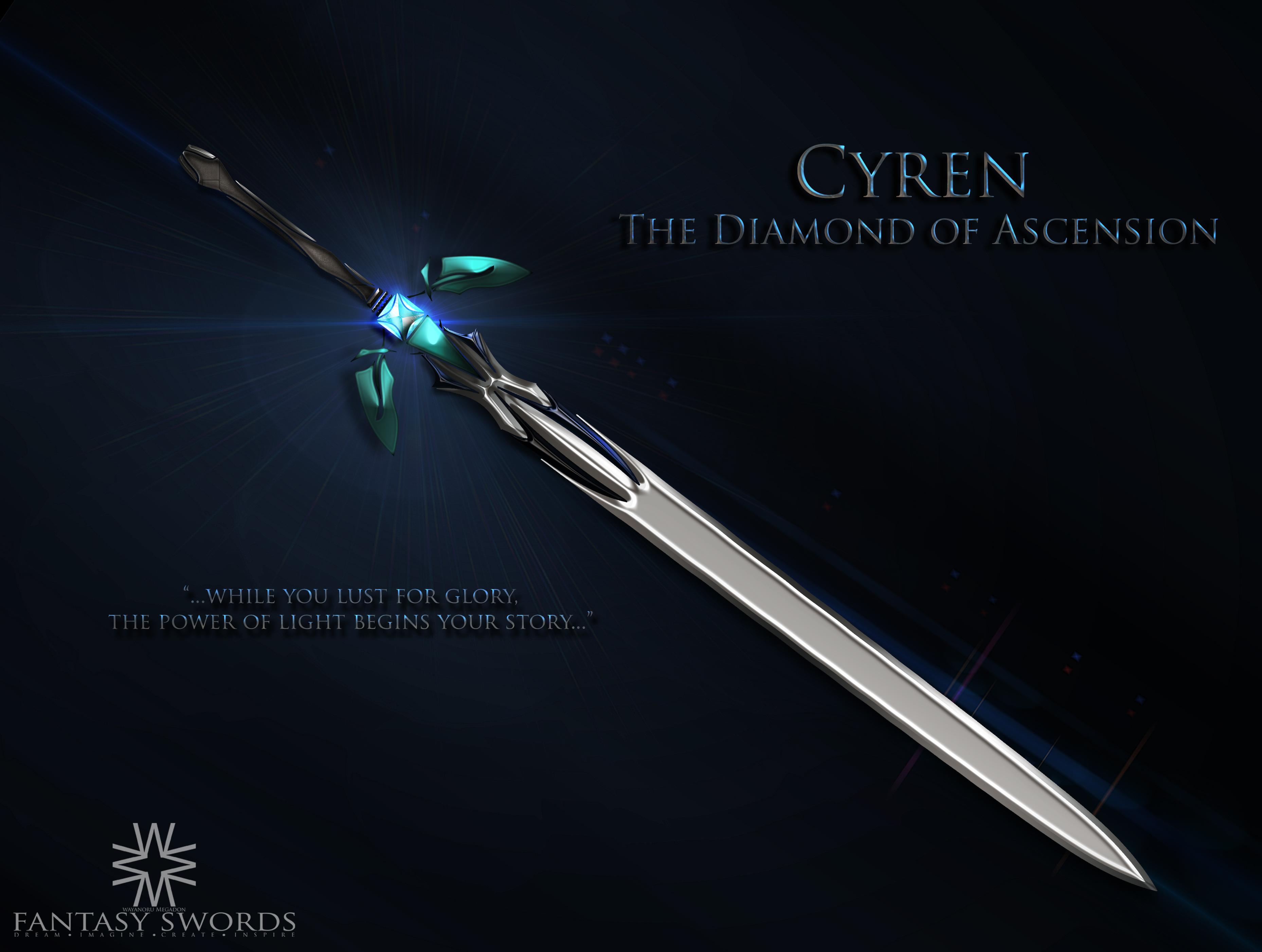 cyren the diamond of ascension by wayanoru on deviantart
