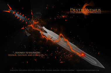 Destronemus, The Shattered Thunder by Wayanoru