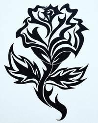 Flor tribal