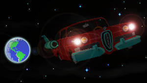 Maniac Mansion - The Space Edsel