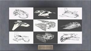 Star Wars Galaxies - 1 Year Anniversary Paintings