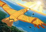 Vers la vie et l'aventure, envole-toi Grand Condor