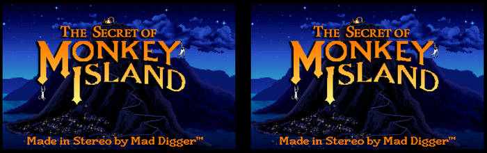Monkey Island - Opening Screen in Stereo by DiggerEl7