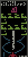 Arecibo Message with HARIBO candies