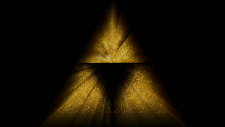 The Legend of Zelda - Triforce blurred by Time