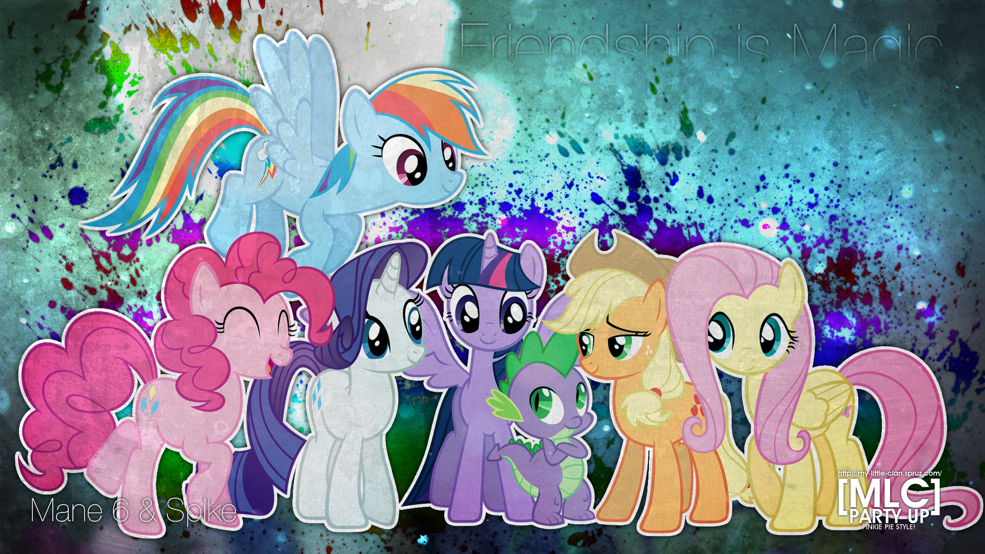 android mane 6 wallpaper - photo #44