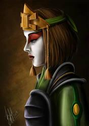 Suki (Avatar: The Last Airbender) by lerielos