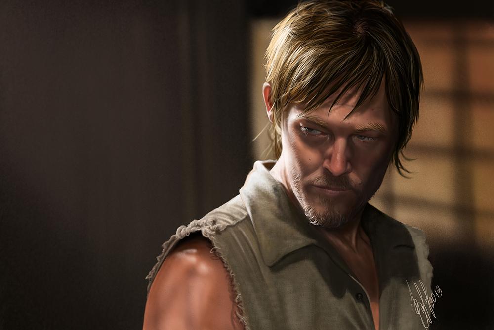 Daryl Dixon (The Walking Dead) by lerielos