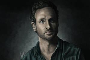 Rick Grimes (The Walking Dead) by lerielos