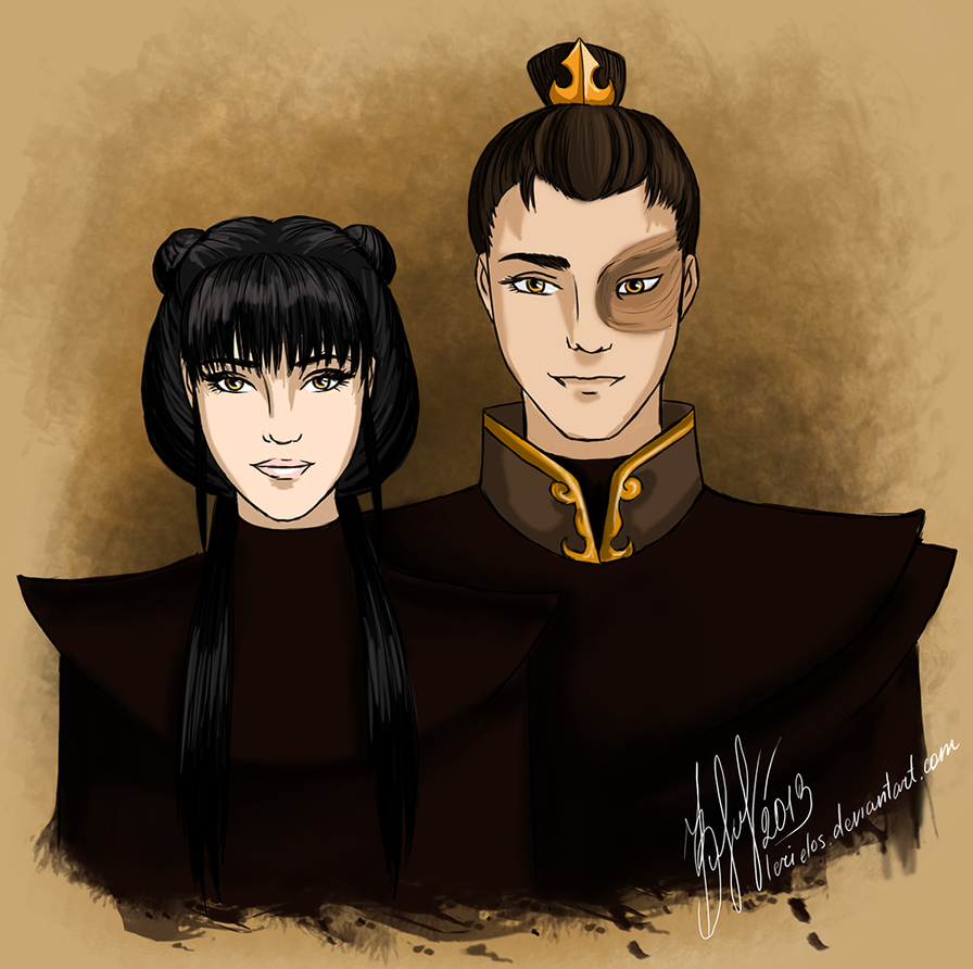 Mai and Zuko by lerielos on DeviantArt