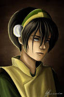 Toph Beifong by lerielos