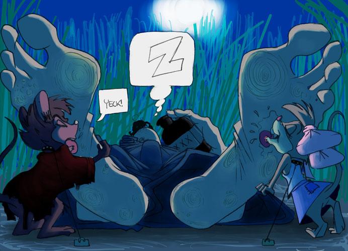 Nightlicking by JinksLizard