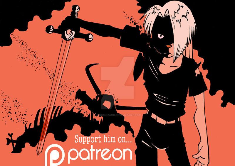 Gabriel on Patreon by JinksLizard