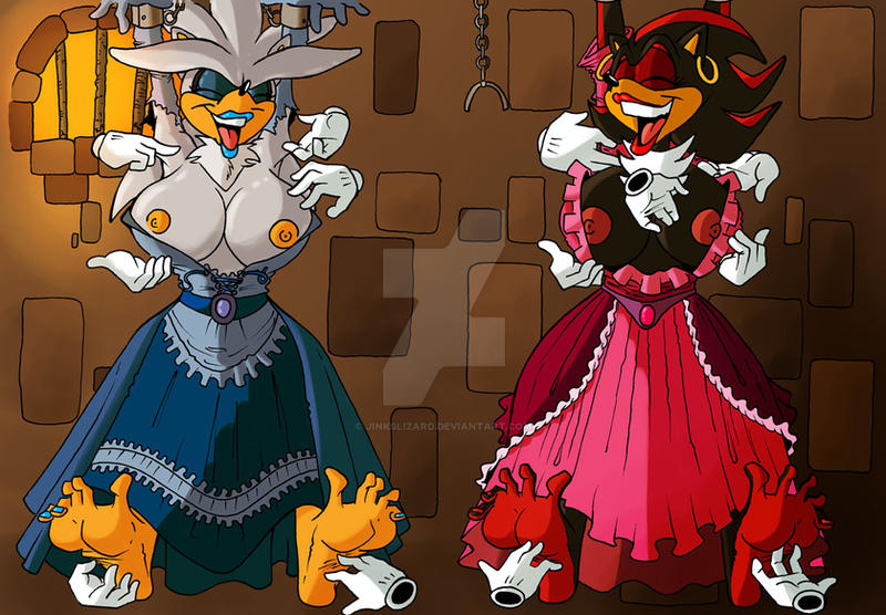Girls in the bastille by JinksLizard