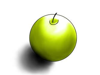 Green apple by ferune-fr