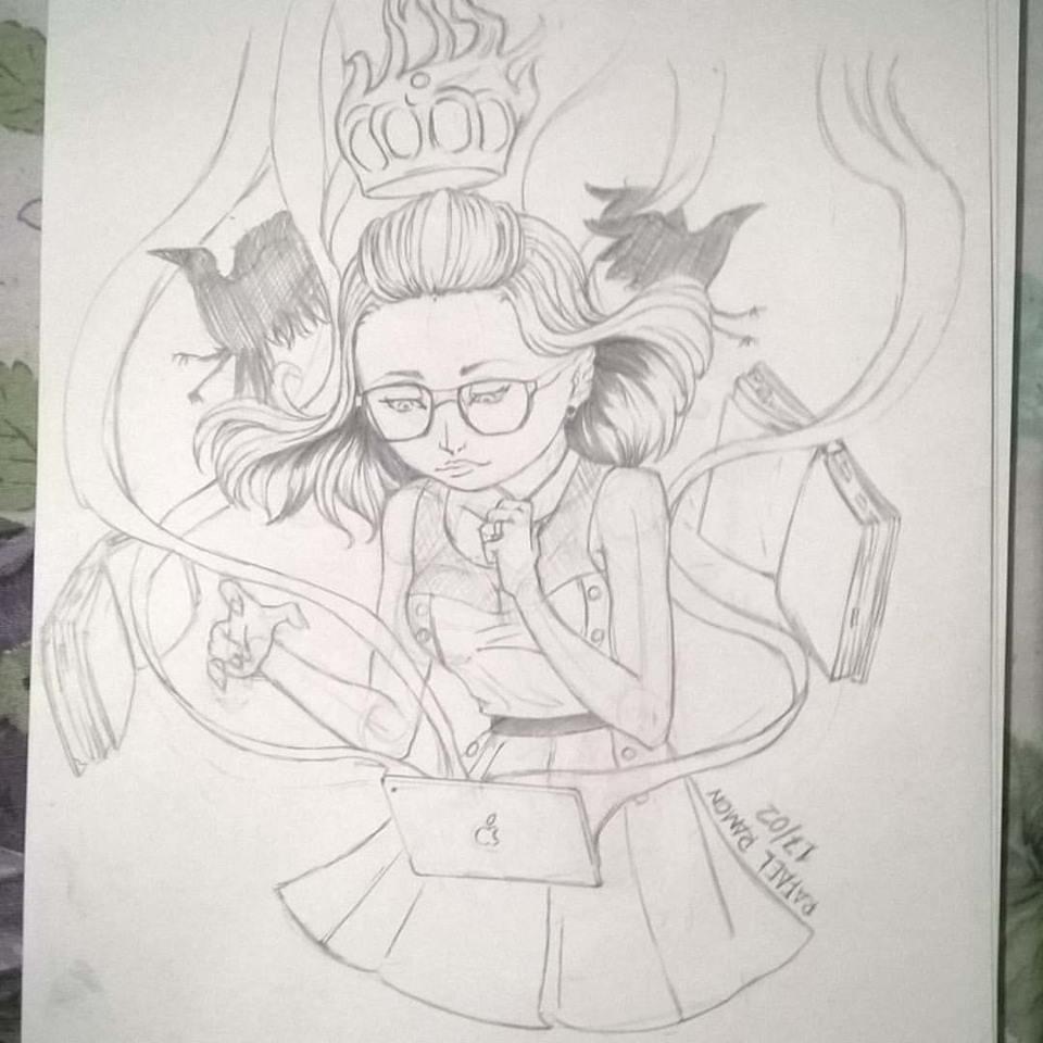 bruxa moderna by Ramonsters