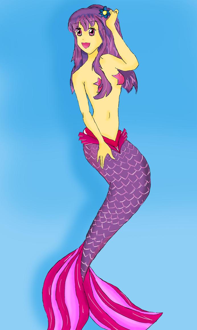 sirena anime coloreada by ViiGae on DeviantArt