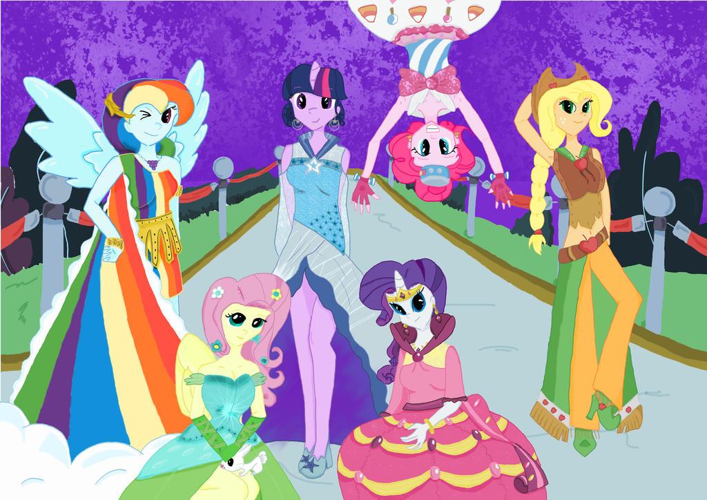 My Little Pony Fashion Show Pony Gala